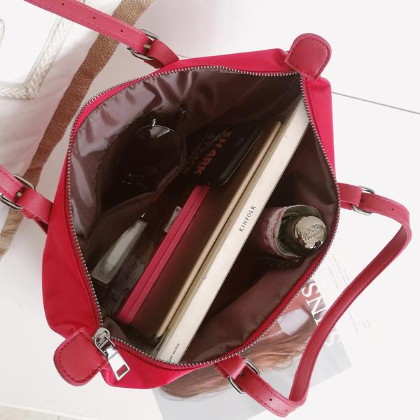 (免運)DE shop - 單肩牛津布尼龍手提包托特包大包包 - M-970
