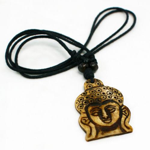 【藏傳佛教文物】釋迦摩尼佛祖面首精飾-質感飾鍊 手鍊 吊鍊 掛件/吊墜/護身符(PB-N0002)
