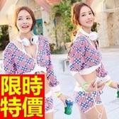 泳衣(三件式)-比基尼-音樂祭玩水海灘必備創意新品54g88【時尚巴黎】