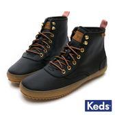 Keds SCOUT 機能防潑水時髦靴 高筒 女靴 - 黑色 84W132641