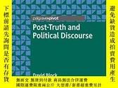 二手書博民逛書店Post-truth罕見And Political DiscourseY364153 David Block