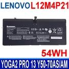 LENOVO L12M4P21 原廠電池 L13S4P21 YOGA2 PRO 13 Y50-70AS Y50-70AS-ISE Y50-70AM Y50-70AM-IFI