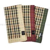 【KP】日本製 純棉手帕 刺繡英文字母 DAKS 毛巾 方巾 手帕 領巾 DTT0514187