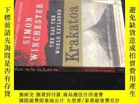 二手書博民逛書店西蒙·溫徹斯特:喀拉喀托火山大爆發罕見Krakatoa: The
