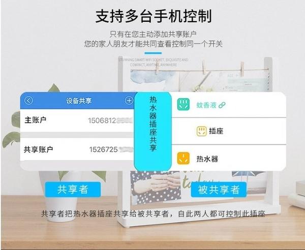 【保固一年 台灣版不用轉接頭】智能 插座 wifi 開關 定時 插頭 語音控制 手機 遠程控制 智能插座