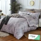 雙人 152x188cm 頂級100%天絲 40s400針紗 床包四件組(兩用被套)-新序 【金大器】