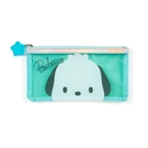 【震撼精品百貨】Pochacco 帕帢狗~日本三麗鷗SANRIO~透明筆袋*58286
