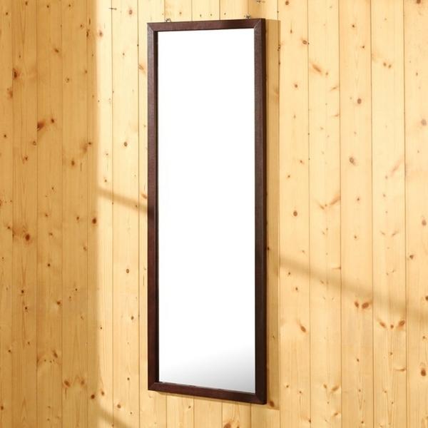 立鏡《百嘉美》典雅實木壁鏡/穿衣鏡/掛鏡-高95公分 W-K-MR536BR