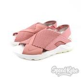 NIKE W Air Huarache Ultra 粉白 豆沙色 武士 襪套 涼鞋 女鞋 885118-601【SP】