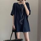 T恤 新款ins純色短袖t恤女學生韓版寬鬆百搭原宿風半袖上衣服【618特惠】