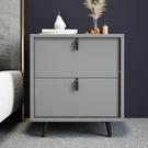 網紅輕奢床頭櫃簡約現代臥室北歐風ins床邊小櫃子意式極簡置物架 小山好物