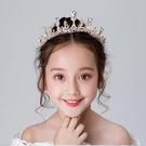 金色水鑽 皇冠頭飾 生日 表演 皇冠 髮夾 髮飾 頭飾 橘魔法 現貨 花童 禮服 畢業典禮 婚禮 攝影