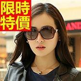 太陽眼鏡(單件)-男女墨鏡 偏光創意造型明星同款獨特歐美風防紫外線5色55s92[巴黎精品]