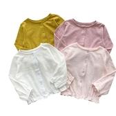 女童空調衫超薄款 純棉開襟外套防曬衣