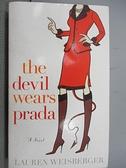 【書寶二手書T7/原文小說_CA5】Thr Devil Wears Prada_Lauren weisberger