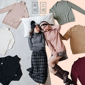 現貨-MIUSTAR 多色可選!高領/中領保暖親膚素色針織毛衣(共18色)【NH3321】