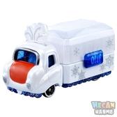迪士尼夢幻珠寶盒小汽車 首飾收納珠寶車 雪寶 13979