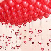 婚房裝飾布置用品派對珠光氣球