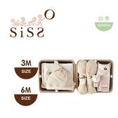 【SISSO有機棉】經典格格小樹長大大禮盒(手腕熊)3M 6M