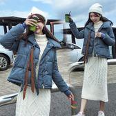 鋪棉外套 冬季外套寬松加厚棉服短款棉襖面包服 巴黎春天