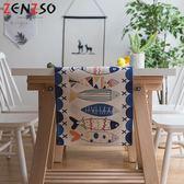時尚可愛空間餐桌布 茶几布 隔熱墊 鍋墊 杯墊 餐桌巾桌旗 618 (35*160cm)