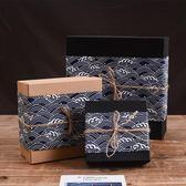 禮品盒 ins風禮盒禮品盒大號超大生日禮物盒子正方形包裝盒精美簡約【美物居家館】