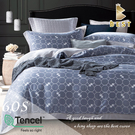 【BEST寢飾】60支天絲床包兩用被四件式 雙人5x6.2尺 科迪 100%頂級天絲 萊賽爾 附正天絲吊牌