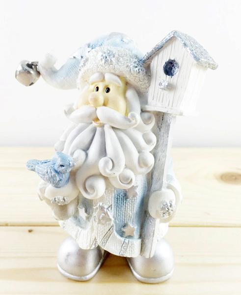 【震撼精品百貨】聖誕節佈置商品-聖誕吊飾-飾品/擺飾-藍銀白色-鴿子