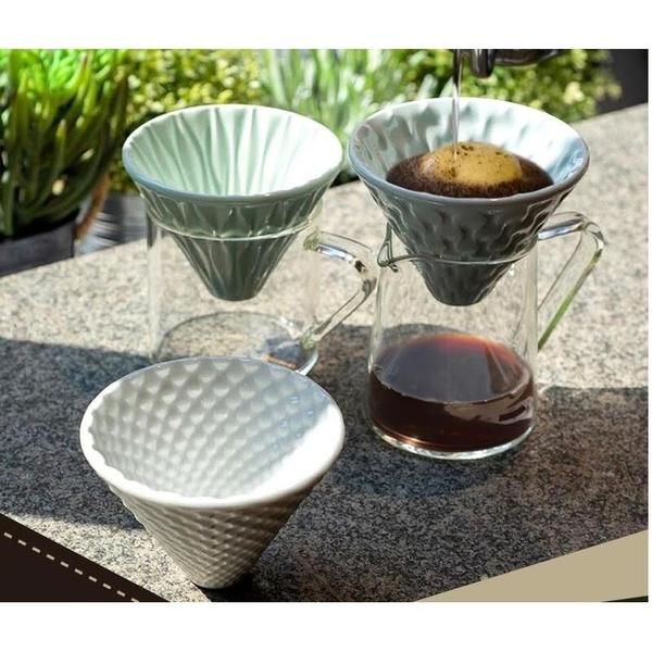【沐湛咖啡】LOVERAMICS 愛陶樂 | 陶瓷咖啡濾杯 (瓷藍/瓷綠/白色)
