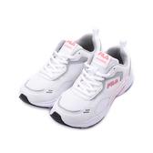 FILA BIELLA ITALIA 慢跑鞋 白玫紅 5-J915U-112 女鞋