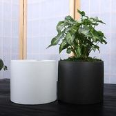 有孔花盆粗陶高檔綠蘿吊蘭盆栽花器Lhh526【大尺碼女王】
