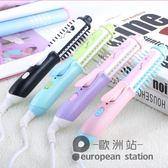 捲髮棒/小型兩用迷你不傷髮陶瓷直捲夾板「歐洲站」