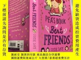 二手書博民逛書店pea s罕見book of best friends susie day: 豌豆的最好的朋友書蘇西戴Y200