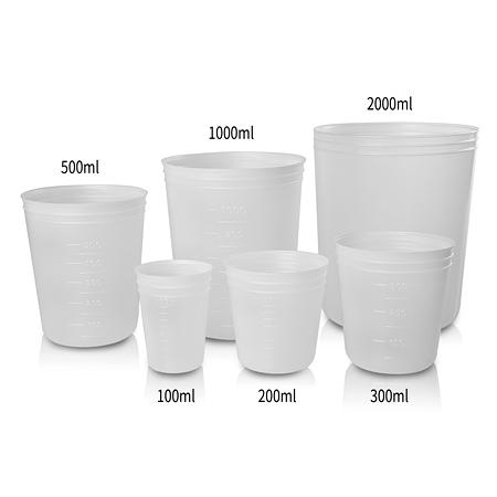 《NIKKO》拋棄式燒杯 PP Beaker, Disposable, PP