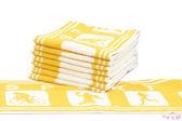 純棉運動毛巾 黃 / 多條優惠 花色皆可混搭 / 台灣專業製造 【快樂主婦】