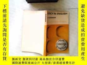 二手書博民逛書店FLUENCY罕見IN ENGLISH)Y241883 L.G.
