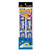 EBISU-新幹線 3~6歲兒童牙刷2入【愛買】