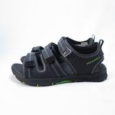 MERRELL 涼鞋 戶外 公司正品 MLK262554 中童款 黑綠【iSport愛運動】