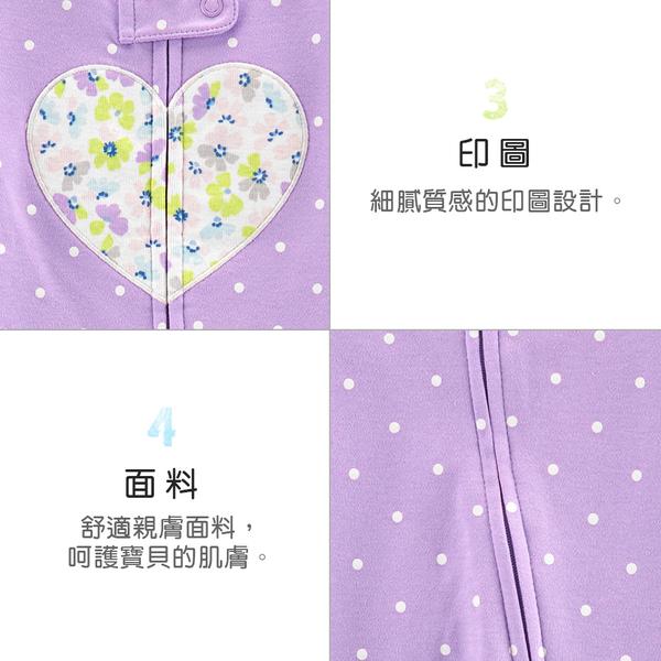 【美國 carter s】粉紫愛心新生兒兔裝-台灣總代理