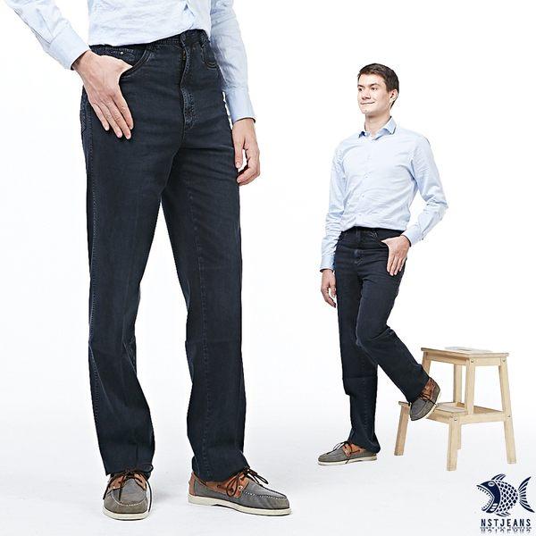 【NST Jeans】薄款 原色丹寧 舒棉牛仔長褲(中腰)390(5663) 早春商品55折起
