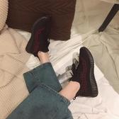 張小笨斷碼JK鞋溫州JK鞋系帶低幫飛織軟底JKJK鞋休閒JK鞋百搭舒適女JK鞋JK鞋子 【ifashion·全店免運】