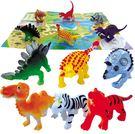 6入動物模型盒 兒童玩具 模型 (購潮8)