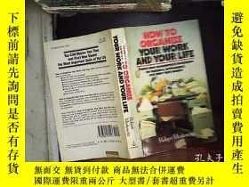 二手書博民逛書店hoe罕見to organize tour work and y