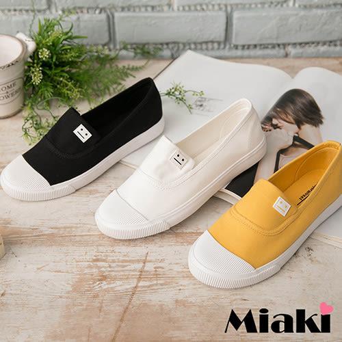 休閒鞋韓國流行平底帆布鞋