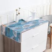♚MY COLOR♚印花冰箱防塵罩 防塵 櫃子 防潮 收納 衣物 衣櫥 居家 整理 洗衣機【N217】