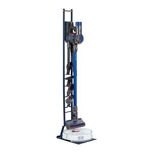 樂嫚妮 多功能吸塵器/掃地機器人收納架藍