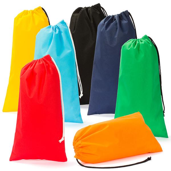 【100個含1色印刷】 超聯捷 不織布袋鞋袋大43.5x22.5cm 客製 宣導品 禮贈品 S1-44023L-100