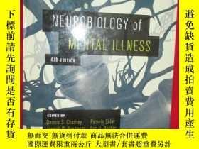 二手書博民逛書店Neurobiology罕見of Mental Illness(