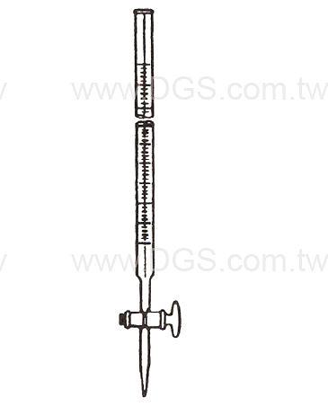 滴定管 經濟型 玻璃栓 Buret, Class Stopcock