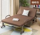 加高折疊床辦公室躺椅簡易午睡床成人家用雙人1.2米床單人午休床 依凡卡時尚